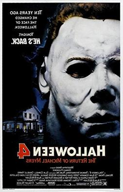 HALLOWEEN 4 The Return of Michael Myers Movie Poster 24x36in