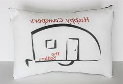 Happy Campers Personalized Handmade Throw Pillow - Pillow In