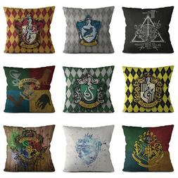 Harry Potter Cushions Cover Throw Pillow Cases Sofa Home Off