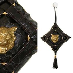 "Haute Couture ""El Tigre"" Hanging Doorknob Small 5.5"" Inch Ve"