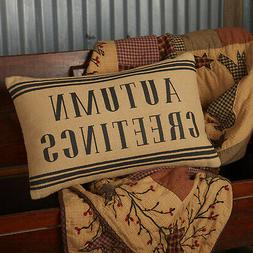 Heritage Farms Decorative Throw Pillow Couch 14x22 Cover+Ins