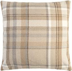 McAlister Heritage | Extra Large Wool-Textured Plaid Pillow
