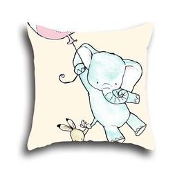 Rainbow Mike Home Bed Couch Sofa Pillow Case Art Elephant Pr