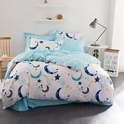 WarmGo Home Textile Bedding Sets for Adult Kids 100% Cotton