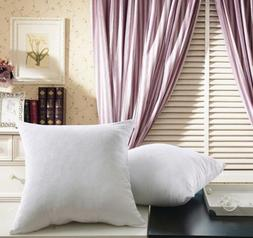 Hypoallergenic Cushion Throw Pillow Inserts Form Bed Sham St