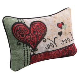I Love You I Love You More Pillow - Woven Tapestry - Reversi