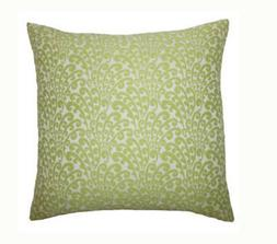 """The Pillow Collection Ilkay Floral Throw Pillow 18"""" x 18"""""""