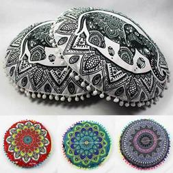 Large Mandala Floor Pillows Bohemian Meditation Cushion Cove