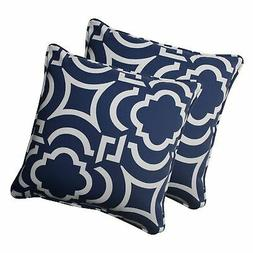 Pillow Perfect Outdoor Carmody Corded Throw Pillow, 18.5-Inc