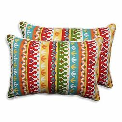 Pillow Perfect Outdoor/Indoor Cotrell Garden Over-Sized Rect