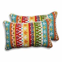Pillow Perfect Outdoor/ Indoor Cotrell Garden Rectangular Th