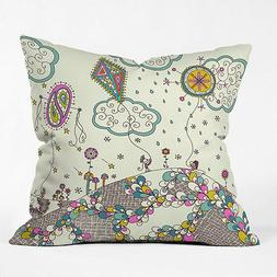 """DENY designs Indoor Outdoor 26"""" Throw Pillow KITES TO THE SK"""