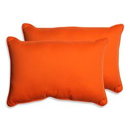 Pillow Perfect Indoor/Outdoor Sundeck Corded Oversized Recta