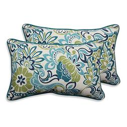 Pillow Perfect Outdoor/ Indoor Zoe Mallard Rectangular Throw