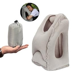 Inflatable Travel Pillow, Koncle Airplane Pillow, Ergonomic