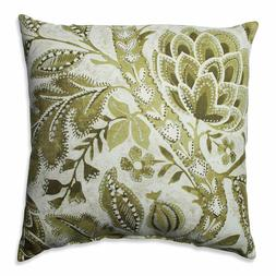 Pillow Perfect Java Tree Moss Throw Pillow, 18""