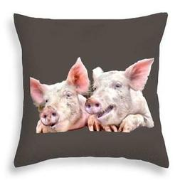 Jowely Good Time For Pigs - Throw Pillow