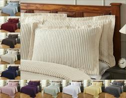 Better Trends Julian 100% Cotton Tufted Chenille Shams in As