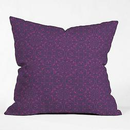 DENY Designs Khristian a Howell Provencal Lavender Throw Pil