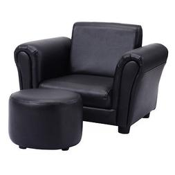 Kids Sofa Armchair Lounge Single Seat Cushioned Couch W/Otto