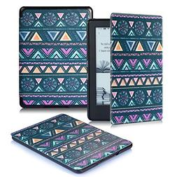 All-New Kindle E-reader Case,DHZ Lightest Folio PU Leather S