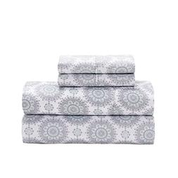 S.L. Home Fashions, Inc. Ath-9351 Athena Microfiber 4 Pc She