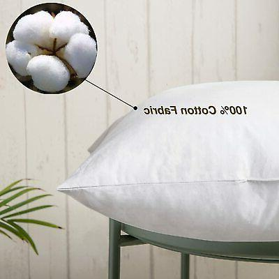 100% Cotton Insert Filled and Feather