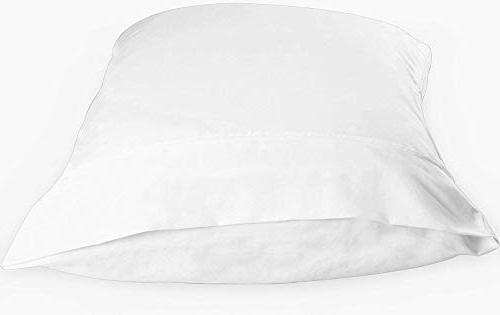 Utopia Pillowcases - White Brushed Softness - Double-Stitched Tailoring Reduces and