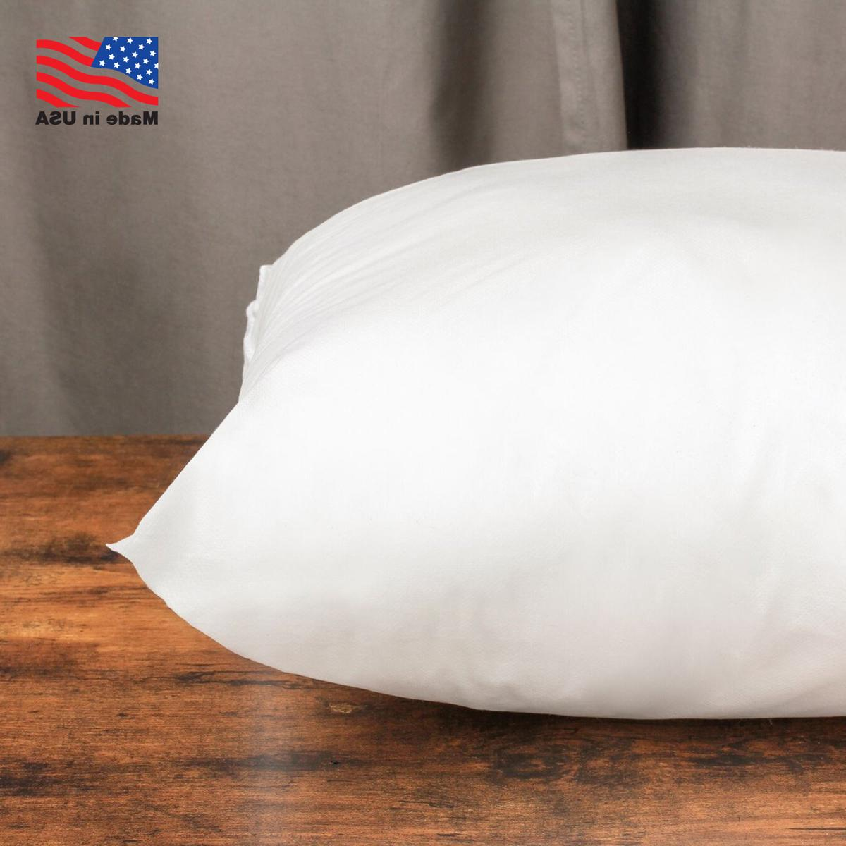 Euro Stuffing Pillow Form USA Cotton Shell of
