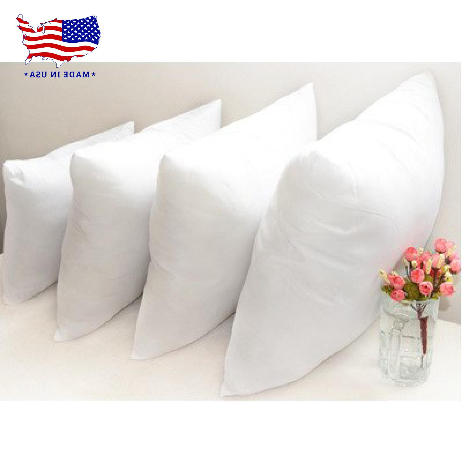 Throw Pillow Inserts Hypoallergenic Pillow Stuffing in USA