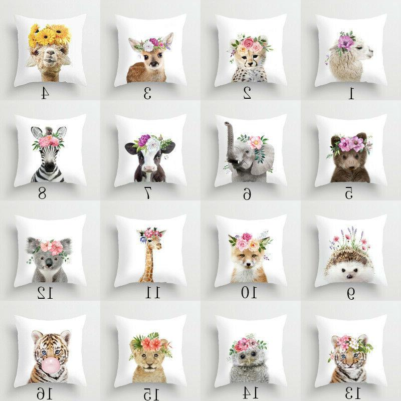 18'' Pillow cushion cover cojines Home Decor