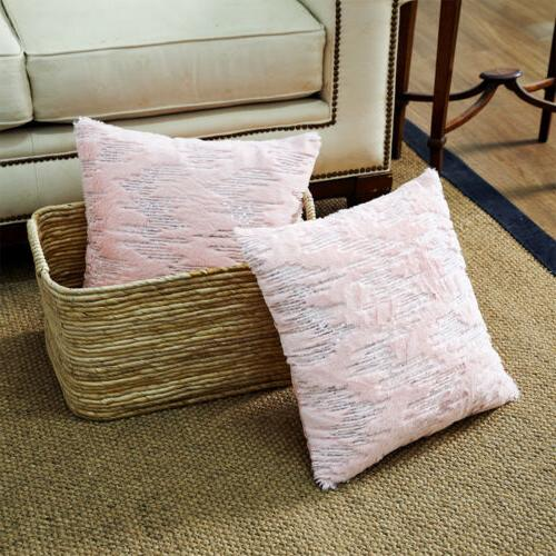 """18"""" Throw Pillow Case Cover Sequined Cushion Decor"""