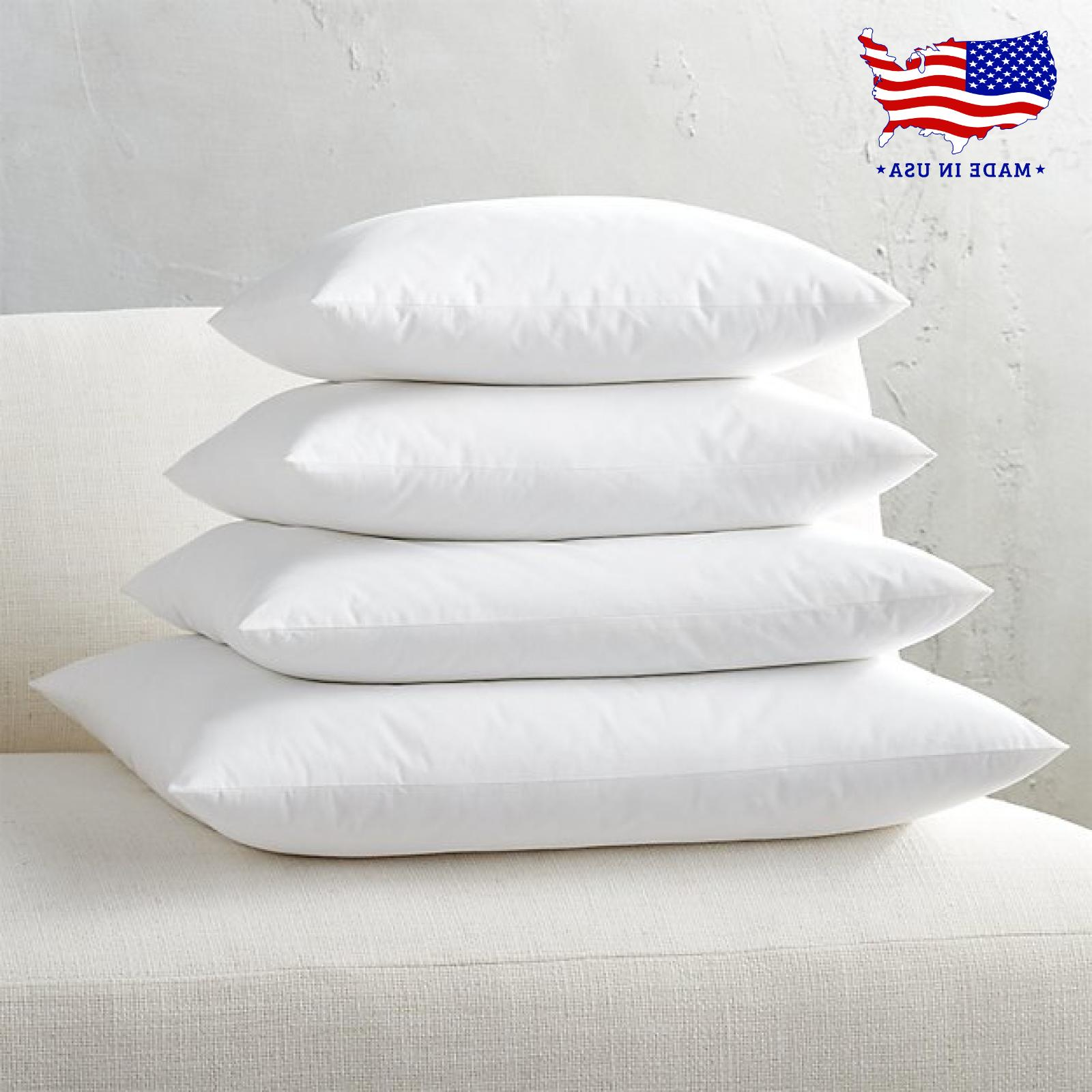 throw pillow form inserts hypoallergenic pillow stuffing