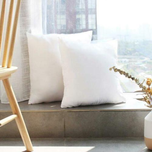 HIPPIH Pack x Pillow Hypoallergenic Decorative Form...