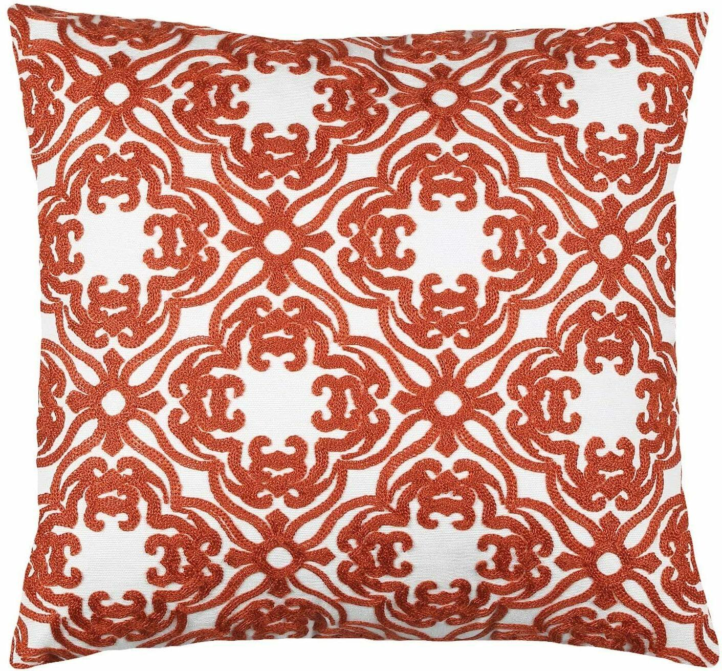 2 Blend Decorative Cushion Covers 18x18 inches