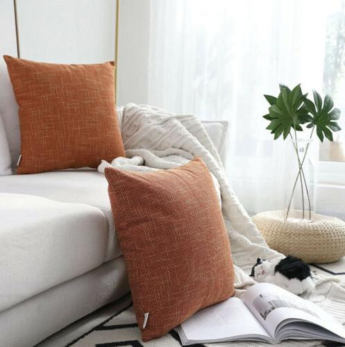 Kevin Decorative Hand Made Faux Linen 26inch
