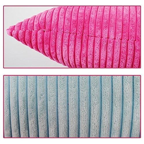 WOMHOPE Ultra Soft Covers Corduroy Covers Cushion Covers Case