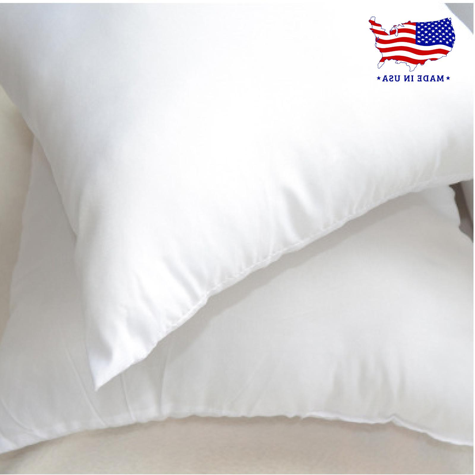 Throw Hypoallergenic Pillow in Pack