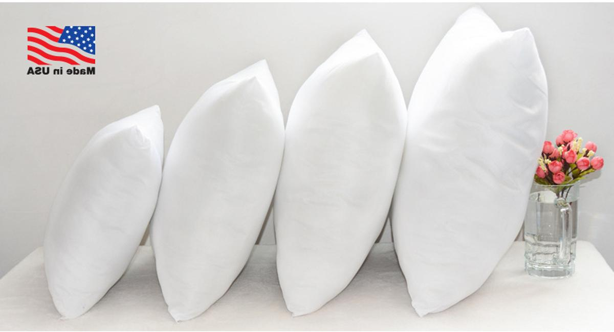 24x24 Discount Pillow Euro Pillows Form Throw Stuffing