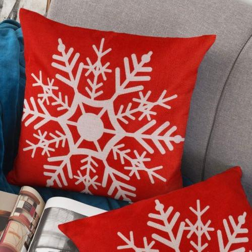 2pc Christmas Throw Covers Cases for Couch Sofa Santa