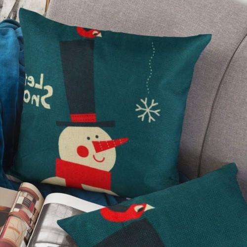 2pc Christmas Covers Couch Sofa