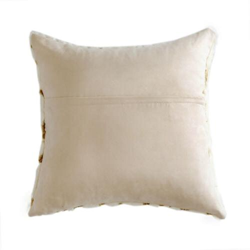 Soft Throw Couch Bed Square Cushion Covers