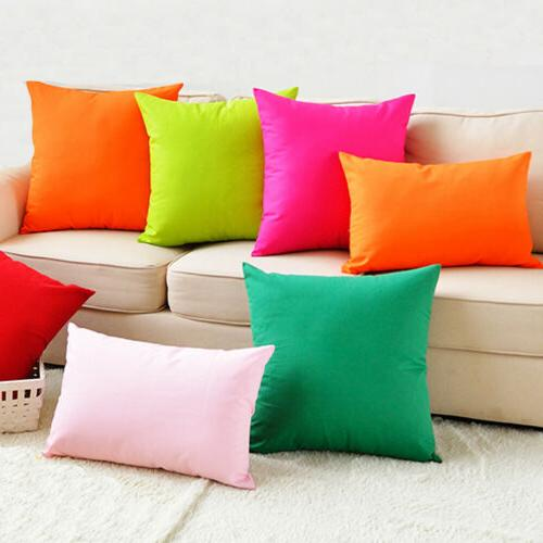 2X Outdoor Pillow Cover Cushion Case For Furniture Couch