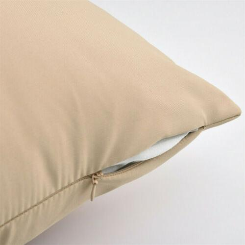 2X Waterproof Pillow Cover Case For Couch