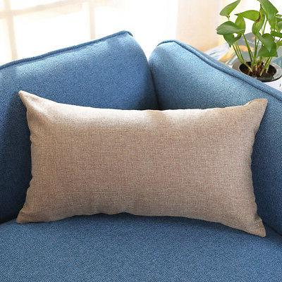 30*50cm Rectangle Cover Silk Throw Pillow Rectangular Pillowcase