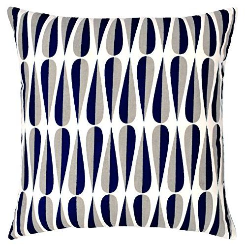 Urban Packs Throw - & Bed Geometric Design 18 Inch Cushion Four Square Collection by