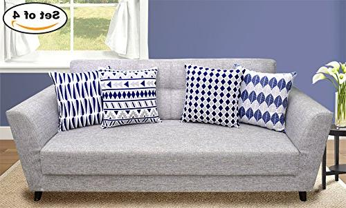 4 packs throw pillow cases