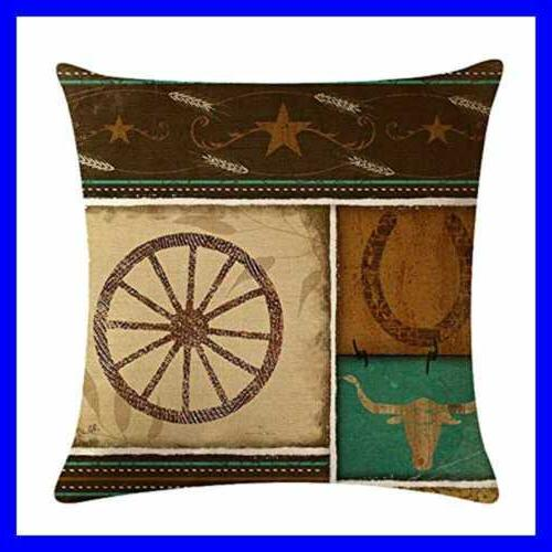 4Pack Style Pillow Vintage Cowboys 1 18''