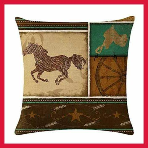 4Pack Cowboy Style Throw Cowboys 18''
