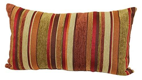 Brentwood Originals 2073 Carnival Stripe Toss Pillow, 14 by